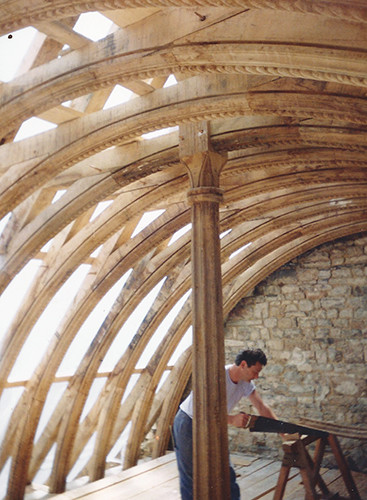 Timber-Framed-ceiling